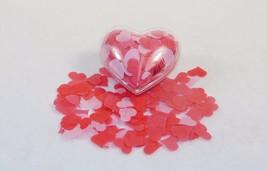 Bath Soap Confetti In Heart-Shaped Ornament ~ Floral Scent, Heart-Shaped... - $9.75