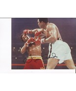 LEON SPINKS vs MUHAMMAD ALI SIGNED 8X10 Photo BOXING PICTURE ALI RIGHT HAND - $4.94