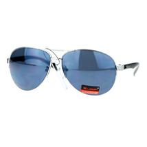 Xloop Sports Aviator Sunglasses Unisex Half Rim Aviators UV400 Protection - $8.95+