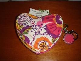 Vera Bradley Clementine Sweetheart Coin Purse - $24.49