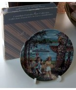 Avon Canadian Portraits Collection Plate West Coast Splendor - $6.99