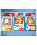 NEW Sealed 3 Pokemon Sticker sets - $6.00