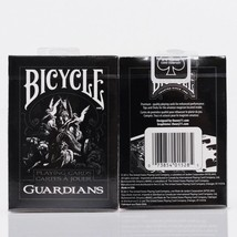 Bicycle Guardians Playing Cards By Theory11 Black Magic Cardistry Deck - $19.79