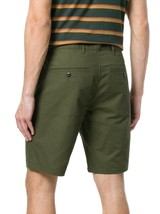 Levi's Strauss Men's Classic Cotton Straight Chino Shorts Army Green Size 42 image 2