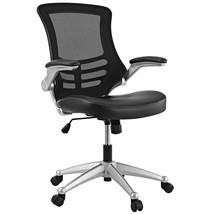 Modway Attainment Mesh Back And Black Vinyl Seat Modern Office Chair  - $195.85