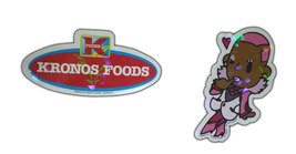"Tiger & Bunny ""Fire Emblem & Sponsor"" Chibi Foil Stickers * ANIME - $4.88"