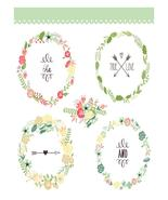 Autumn Floral Flower2-Digital-ClipArt-Art Clip-... - $3.00