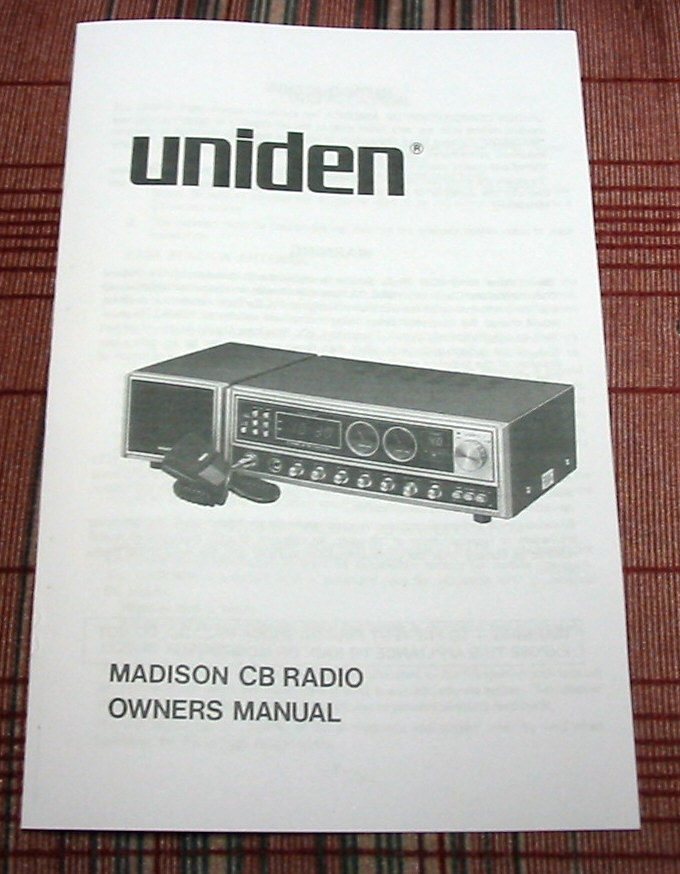 www uniden com owners manual