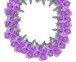 Purple floral flower wreath thumb155 crop