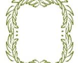 Green floral flower wreath thumb155 crop
