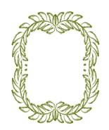 Green Floral Flower Wreath-Digital-ClipArt-Art ... - $3.85