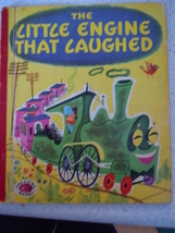 Vintage The Little Engine That Laughed by Alf Evers Treasure Book 1950 H... - $5.99