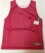 Youth Sports Jersey Medium REVERSIBLE Cloz Comany NEW Red White - $7.99
