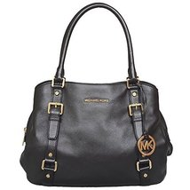 MICHAEL Michael Kors Large Bedford E/W Satchel in Black - $385.00