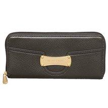 MICHAEL Michael Kors Saratoga Zip Around Continental Wallet in Black - $158.00