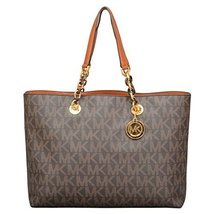 MICHAEL Michael Kors Large Cynthia Tote in Brown - $363.00