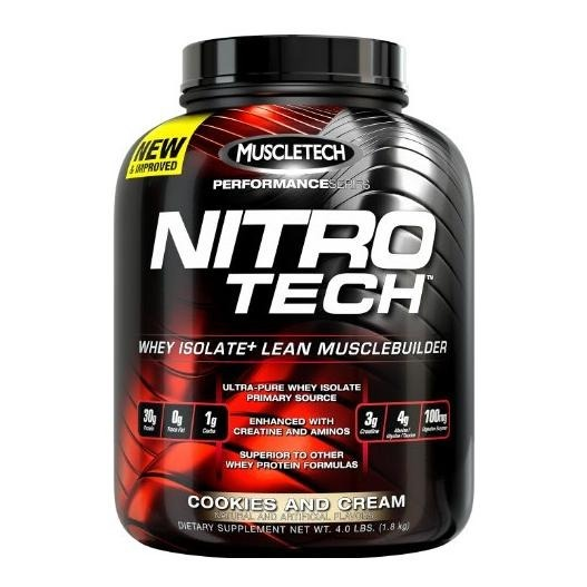 Primary image for MuscleTech NitroTech Performance Series, 3.97 lb Cookies & Cream