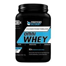 Protein Scoop Omni Whey, 2.2 lb Vanilla - $59.95