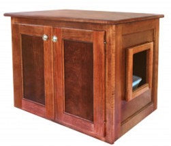 cabinet for cat genie litter box