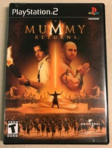 The Mummy Returns (PlayStation 2, 2001) PS2 Game - $7.99