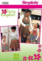 Daisy Kingdom Mother & Child's Matching Aprons Sewing Pattern Cobbler/ H... - $9.95