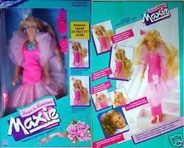 Dance 'N Romance Maxie W/Grow Hair  Hasbro 1989 Nrfb - $39.50