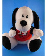 "Nascar Tony Stewart Plush Dog with # 14 Shirt 9"" sitting Mint With Tag - $9.00"