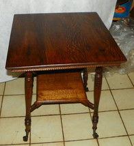 Quartersawn Oak Parlor Table Center Table (BM-T471) - $399.00