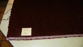 Burgundy Crushed Velvet Fabric / Upholstery Fabric  1 Yard  R32 - $39.95