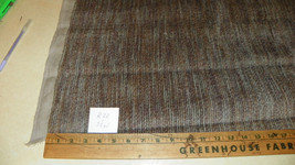 Gray Beige Mauve Stripe Velvet Fabric / Upholstery Fabric  1 Yard  R22 - $29.95