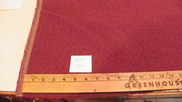 Burgundy Tweed Nylon Fabric / Upholstery Fabric  1 Yard  R31 - $29.95