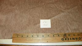 Tan Beige Stria Velvet Fabric / Upholstery Fabric  1 Yard  R30 - $29.95