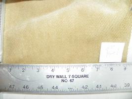Tan Diamond Print Chenille Fabric / Upholstery Fabric  1 Yard  R40 - $29.95