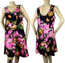 Flower Scoop Bodycon Mini Casual Dress Stretch Summer Beach Party Club W... - $24.99