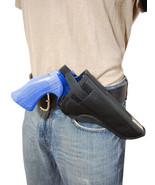 "Barsony Cross Draw OWB Gun Holster 22 38 357 41 44 Smith & Wesson 6"" Rev... - $25.99"