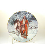 """2585 """"WINTER OF '41"""" The Last Warriors Hamilton Plate Collection Indians - $25.00"""