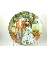 """2581  """"HOME TO TARA"""" Bradford Plate Gone With The Wind Golden Anniversar... - $25.00"""