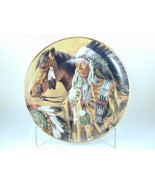 """2584 """"PRIDE OF THE SIOUX"""" Franklin Mint Plate Collection American Indian - $25.00"""