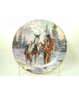 """2583 """"MORNING OF RECKONING"""" The Last Warriors Hamilton Plate Collection ... - $25.00"""