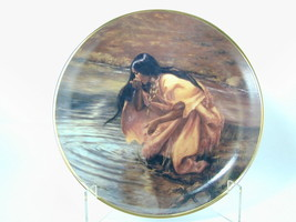"2582  Very Rare ""THE RIVER OF LIFE"" Indian Fran... - $40.00"