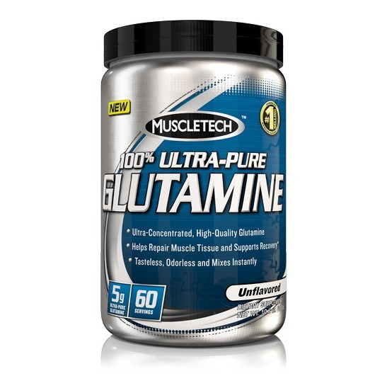 Primary image for MuscleTech 100% Ultra-Pure Glutamine, 0.6 lb