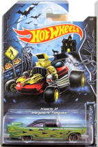 Hot Wheels - '57 Plymouth Fury: Happy Halloween! #1/5 (2014) *Kroger Exclusive* - $4.00