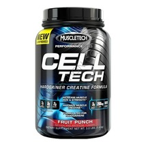 MuscleTech CellTech Performance Series, Fruit Punch 3 lb - $89.00