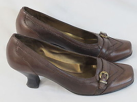 Naturalizer Brown Leather Loafer Shoes Size 7.5 M US Excellent Condition - $25.40 CAD