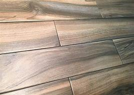 6x24 Marina Walnut Porcelain Plank Wood Look Field Tile Floor Sold by Piece image 5
