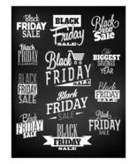 Black Friday Calligraphic-Digital-ClipArt-Art Clip. - $4.00