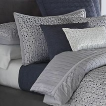 Simply Vera Wang Dimensional Embroidered Icy Blue Standard Shams (Set of 2) - $37.00