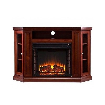 fireplace media console electric entertainment center corner mantel tv stand new entertainment. Black Bedroom Furniture Sets. Home Design Ideas