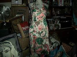 DONNA RICCO New York Flirty Floral Halter Dress Size 6 - $23.76