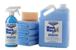 NEW Waterless Car Wash Wax Kit 144 Oz. Aircraft Quality Wash Wax For You... - $47.47
